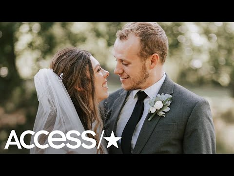 'Counting On's' Josiah Duggar Shares His First Kiss With Lauren Swanson On Their Wedding Day | Acces