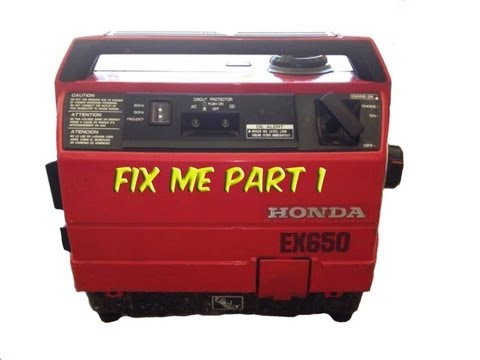 part 1 honda ex650 generator needs help