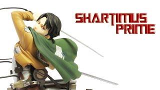 Kotobukiya Levi Attack on Titan Comic Manga TV Series ArtFXJ  1:8 Scale Collectible Statue Review