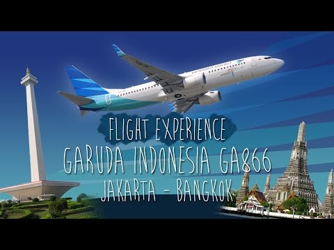 Flight Experience - Garuda Indonesia GA866