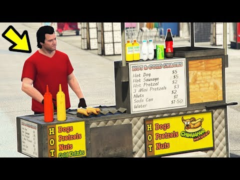 GTA 5 - Working a REAL JOB in Los Santos! (Reality Mod)