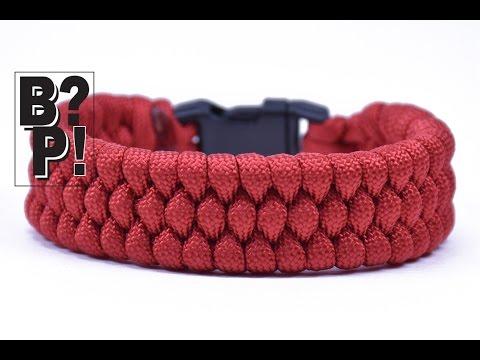 "Make the ""Slim Trilobite"" Paracord Bracelet - The EASY Way  - BoredParacord.com"