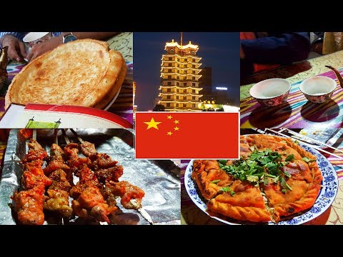 Halal Street Food in China - Zhengzhou, Henan by Indian Traveler (Urdu/Hindi) ENG subs