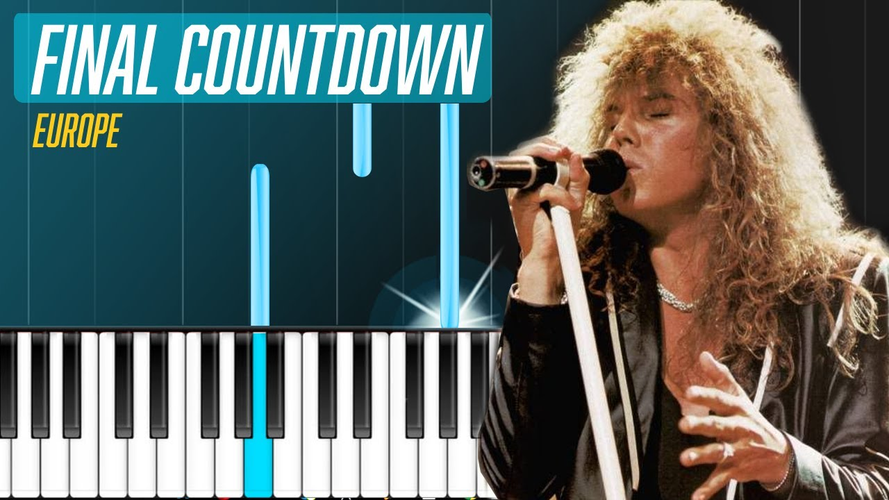 Europe the final countdown piano tutorial chords how to europe the final countdown piano tutorial chords how to play cover hexwebz Gallery