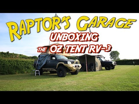 Unboxing the Oz Tent RV-3 | Raptor's Garage