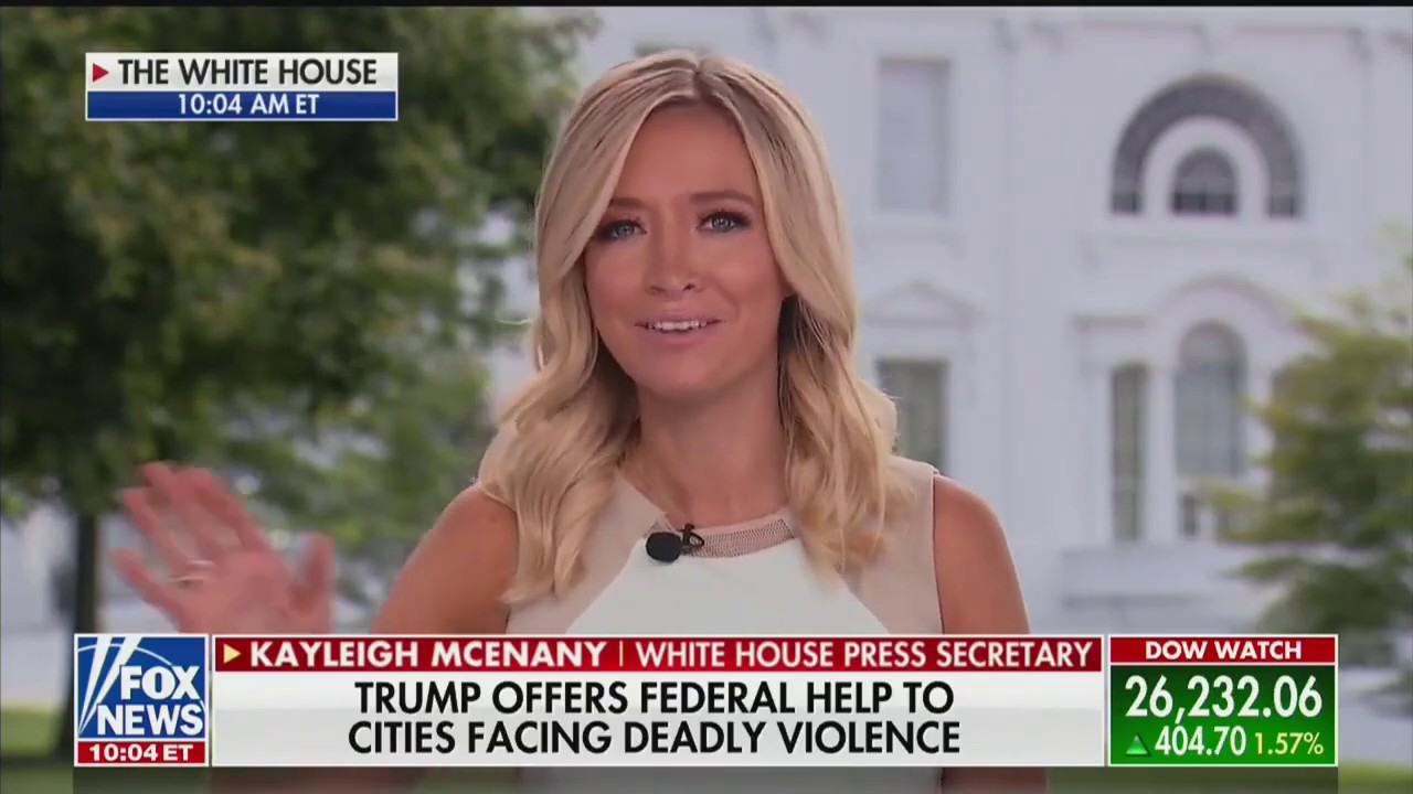 Kayleigh McEnany on the nationwide wave of violence following Democrat calls to Defund the Police