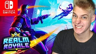 BETTER than Fortnite? Realm Royale at SWITCH | Realm Royale for Nintendo Switch