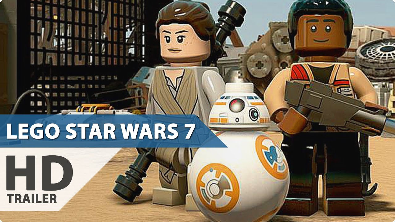 Star Wars Force Awakens 1080p: Lego Star Wars 7: The Force Awakens PS4 Gameplay Reveal