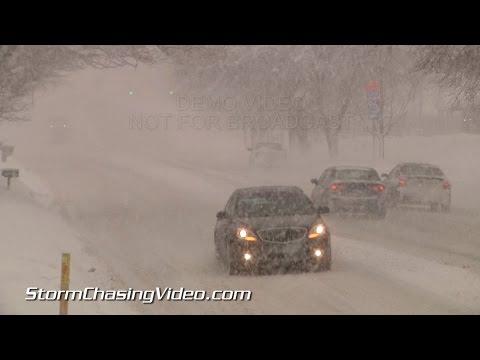 11/20/2014 Grand Rapids, MI Lake Effect Snows