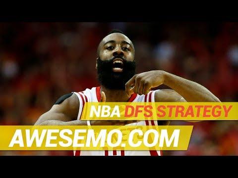 NBA DFS Strategy - Fri 4/5 - Yahoo, FanDuel & DraftKings  - Awesemo.com thumbnail