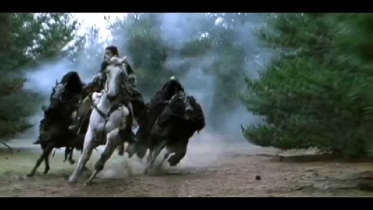 Youtube The Black Rider Lord Of The Rings