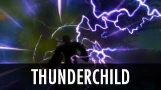 Skyrim Mod: Thunderchild - Epic Shout Package