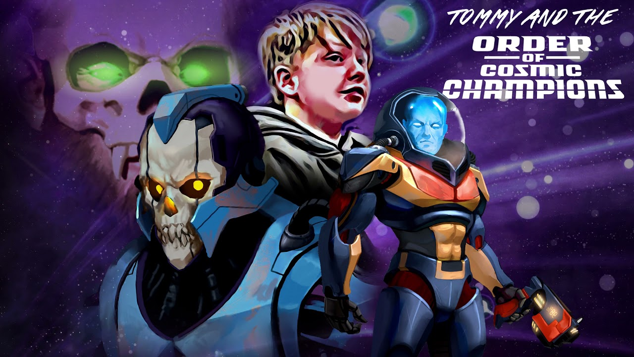 Tommy and the Order of Cosmic Champions Theme Song - Stan Bush