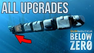 ICE WORM LEVIATHAN ATTACK *TERRIFYING* - Subnautica: Below