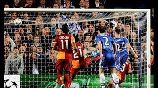 Gary cahill goal celebration chelsea vs galatasaray