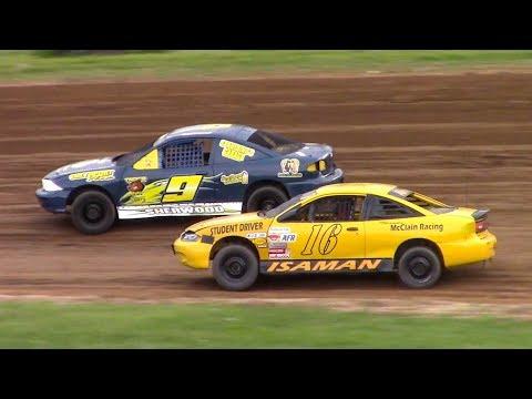 Kids Class Mini Stock Heat | McKean County Family Raceway | 5-19-18