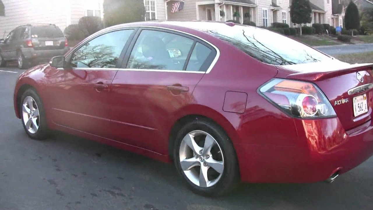Captivating 2009 Nissan Altima 3.5 SE, Detailed Walk Around In HD.   YouTube
