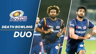 Death Bowling Duo - Lasith Malinga & Jasprit Bumrah | Mumbai Indians