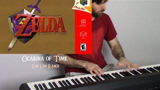 The Legend of Zelda Ocarina of Time - Lon Lon Ranch (Piano Remix)
