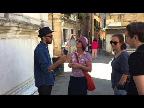 Biennale Arte 2015 - Meeting JR in Venice