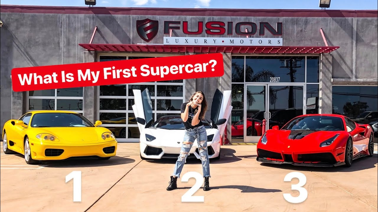 BUYING A LAMBORGHINI OR FERRARI FOR FIRST SUPERCAR? *VOTE IN COMMENTS*
