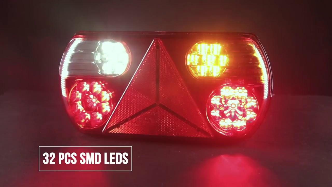Led Lampen Aanhangwagen : Led verlichting aanhangwagen en trailer l onlinetrailerparts youtube