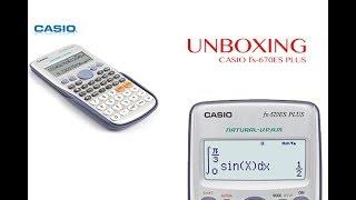 Unboxing Casio fx-570ES PLUS