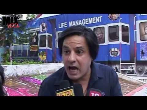 Rahul Roy & Bappi Lahiri at Brahma Kumaris...