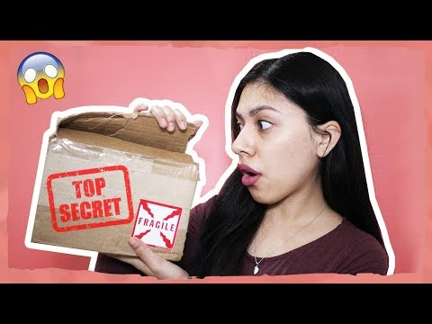 OPENING A TOP SECRET PACKAGE! WHATS INSIDE?! - Mail Time
