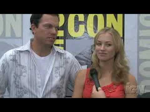 SDCC 08: Chuck - Adam Baldwin & Yvonne Strahovski Season 2 Interview