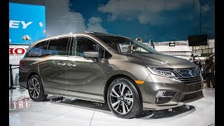 2018 Honda Odyssey Elite Hybrid Interior and Exterior 1080p Full HD