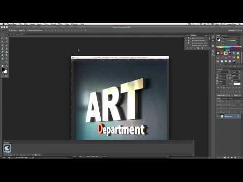 สร้างภาพเคลื่อนไหวด้วย PhotoShop