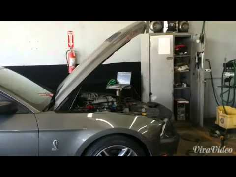 2011 GT500 cai/pulley/tune dyno