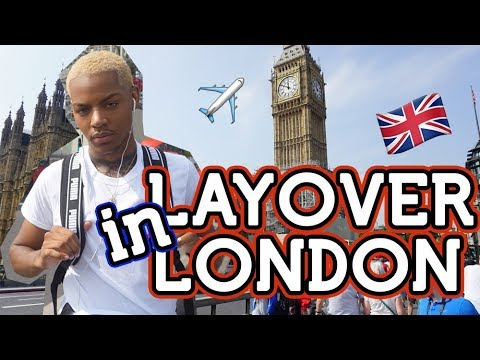 📍FIRST TIME TRAVELING ALONE in LONDON, ENGLAND  | Tarek Ali