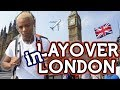 Traveling from USA to London ALONE! My first Solo Vacation  | Tarek Ali