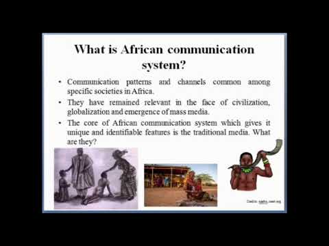 African Communication System (Modules 1 & 2)