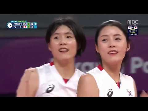 Lee Dayeong highlight  Bronze medal match women volleyball  Asiad 2018