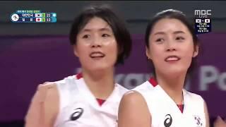 Lee Dayeong highlight - Bronze medal match women volleyball - Asiad 2018