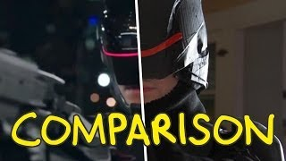 ROBOCOP TRAILER - Homemade Side by Side Comparison