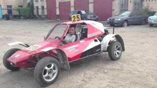 Полтава Багги (Автокросс) первый выезд, обкатка мотора