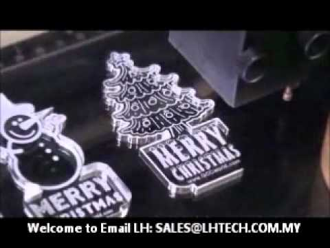 Lh Tech Acrylic Christmas Light Laser Engraving How To