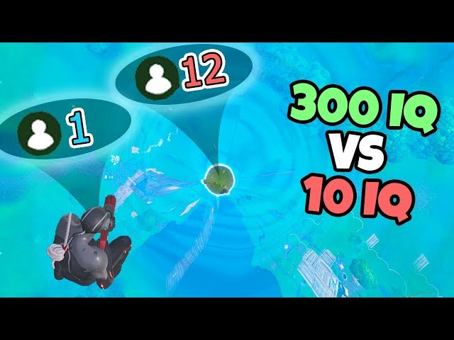300 IQ Plays Vs 10 IQ Plays