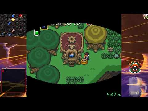 ALttP Randomizer VT (Triforce Hunt) with Jeff and Core - 9/10/2017