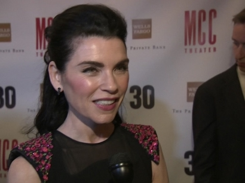 Margulies' post 'Good Wife' life? 'Eating bonbons'