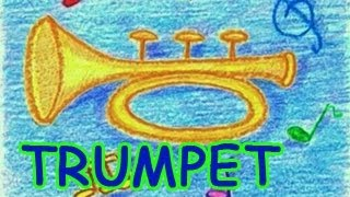 How to draw a Trumpet - Danny & Daddy