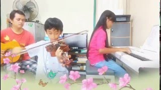 Guruku Tersayang (piano by Aurel & violin by Wilson)