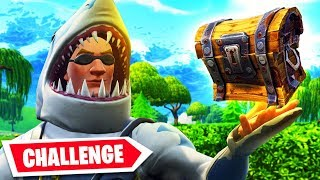 The ONE CHEST CHALLENGE in Fortnite Battle Royale!!