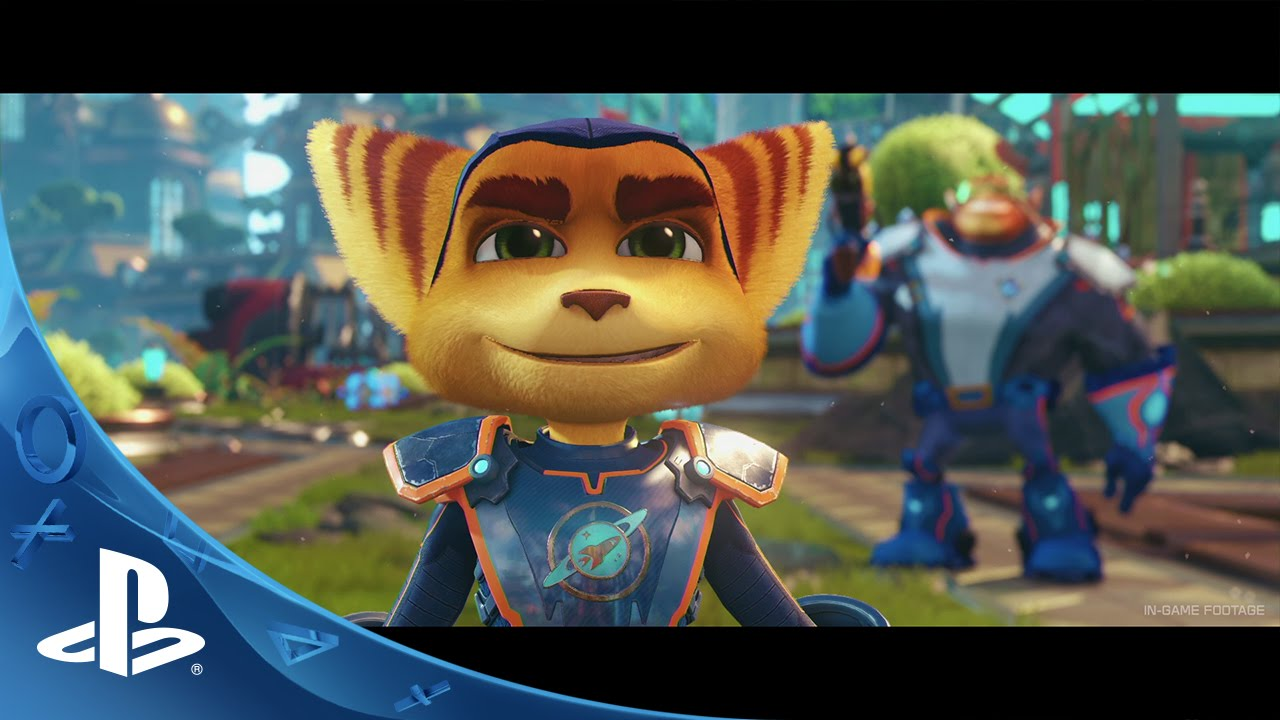 Ratchet Clank The Game Based On The Movie Based On The Game Trailer Ps4 Youtube