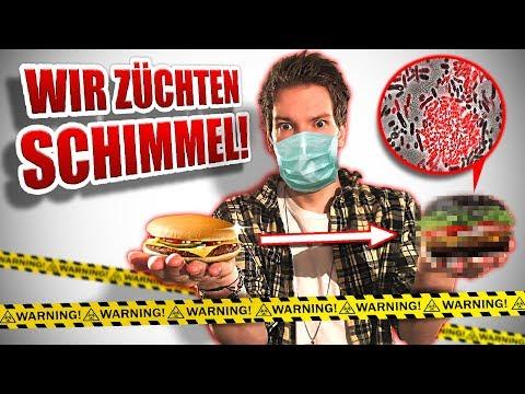 NEUER McDonald's Burger SCHIMMELT !