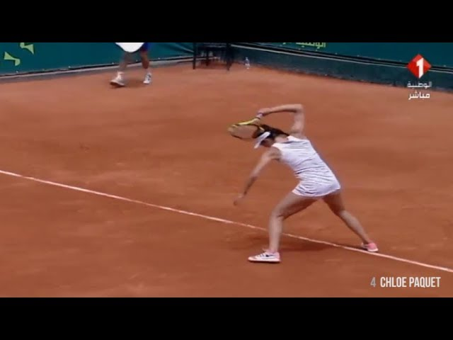 TOP 10 racquet smashes #2 - ITF Womens Tennis Circuit